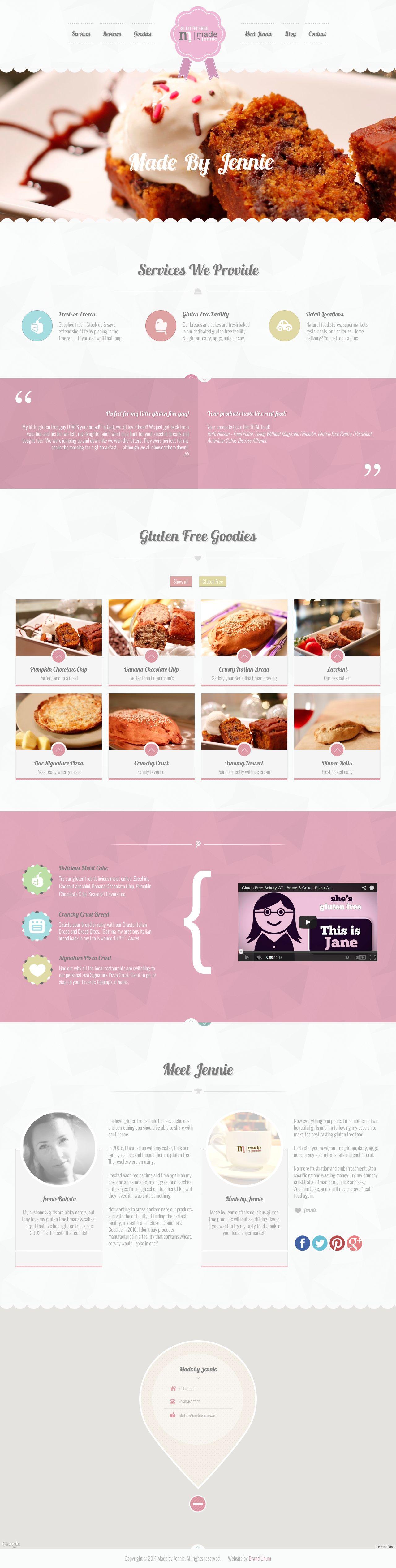 Brand Unum Portfolio - Web Design
